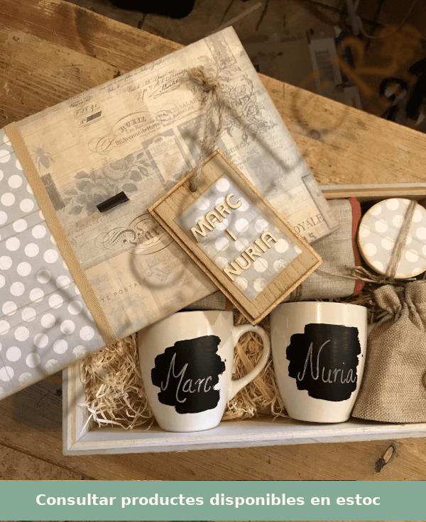 Casaments, noces, regals, Naturmura