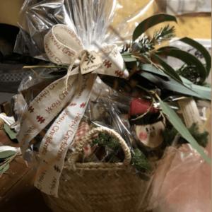 Cistells regal Nadal paneres, Naturmura